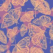 Butterfly in the Sky (blue)