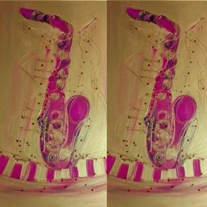 Sax Pink Lady Jazz