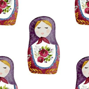 "8"" Little Babushka"