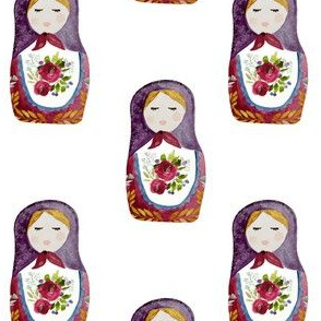 "4"" Little Babushka"