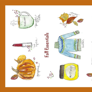Fall Essentials TeaTowel