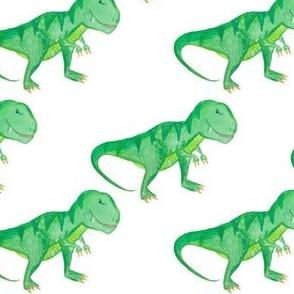 """4"""" T-rex White"""