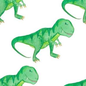 """8"""" T-rex White"""
