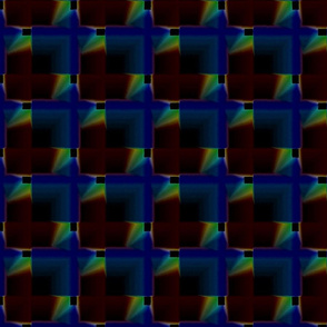Dark tiles shadow crystal