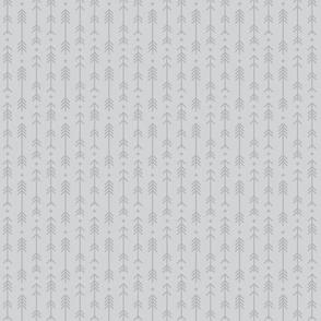 tiny cross + arrows light grey tone on tone