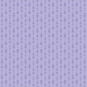 tiny cross + arrows light purple tone on tone