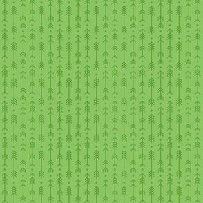 tiny cross + arrows apple green tone on tone