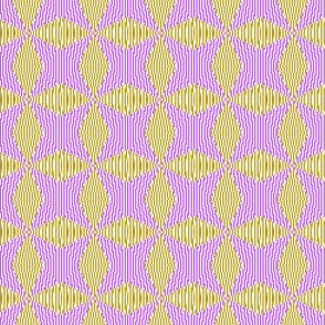 Crossing the lines - the magenta and yellow optical illusion
