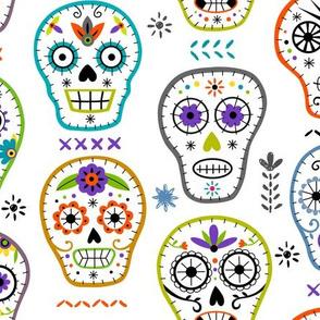 skull embroidery jewel lrg