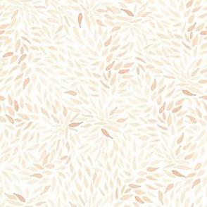 Dahlia Petals on White