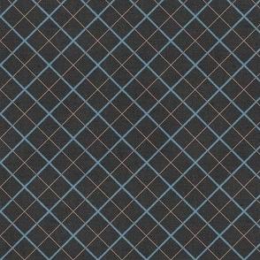 Sleepy Series Blue Tattersall Dark