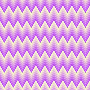 Simple chevron pattern shaded from vivid magenta to pale yellow