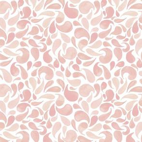 Pink Teardrops