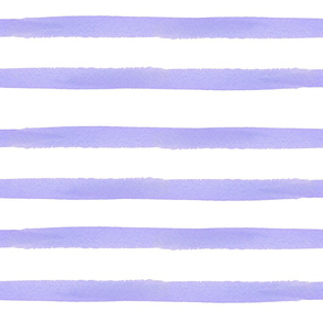 Violet Watercolor Stripes