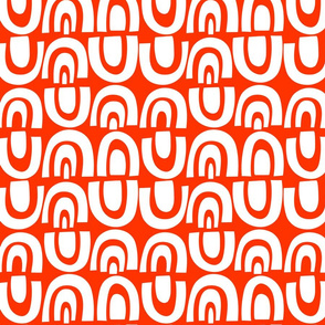 MilesofTile_White/Orange