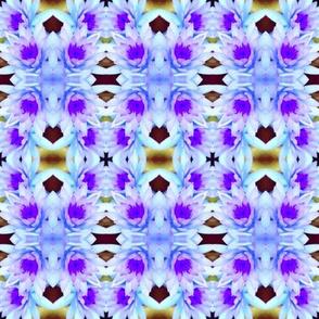 Soft Lavender Blue Lotus Angel Wings