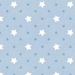 Sleepy Series Blue Stars Light Large