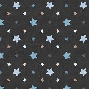 Sleepy Series Blue Stars Dark Large