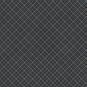 Sleepy Series Blue Tattersall Dark Ditsy