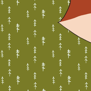 Jax The Fox Cheater Quilt