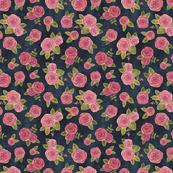 Roses on indigo (smaller)