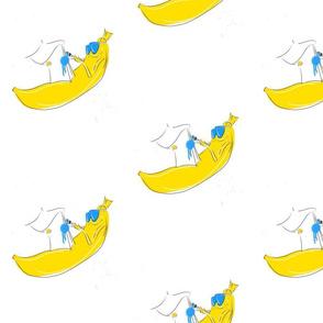 Painting banana