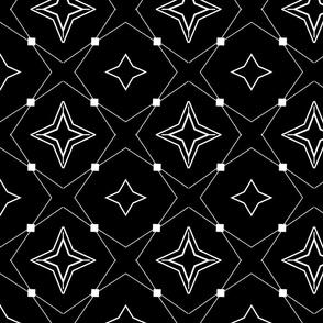 THIN STARS BLACK