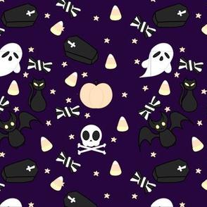 Kawaii Halloween - Deep Purple