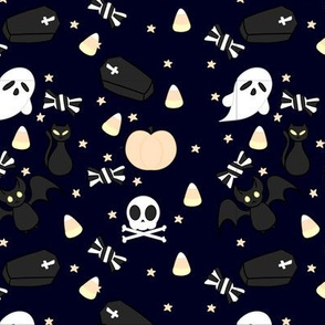 Kawaii Halloween - Midnight
