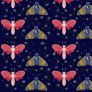 Twilight Moths
