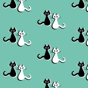 Mcm cats on spearmint