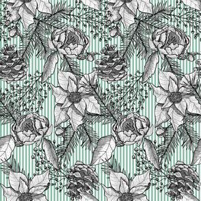 Winter Pine & Floral