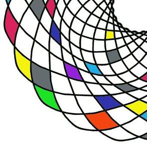 Circles, colorful M003