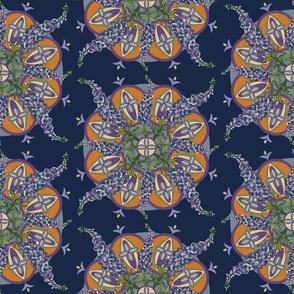Foxgloves Mandala-Large