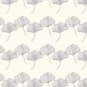 minimalist Gingko