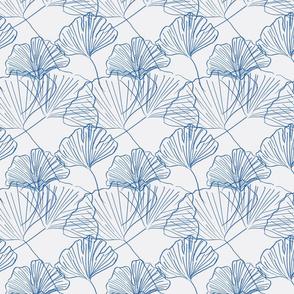 Jumbo Gingko - extra soft-dark blue