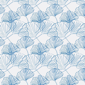 Jumbo Gingko - extra soft-electric blue