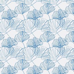 Jumbo Gingko - extra soft-electric blue