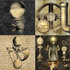 Steampunk Patchwork