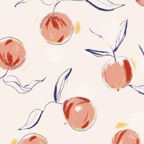 Gouache Peaches
