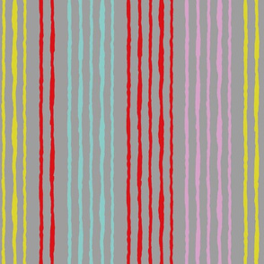 geranium dance stripes large scale