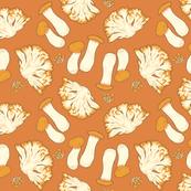 Mega Mushrooms Burnt Orange Version