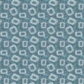 Serenity blue shapes