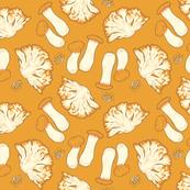 Mega Mushrooms Mustard Yellow Version