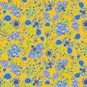blue florals_seamless_150dpi