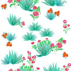 Agave Desert Floral