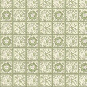 The William Morris Collection ~ Trellis Diaper ~ Original
