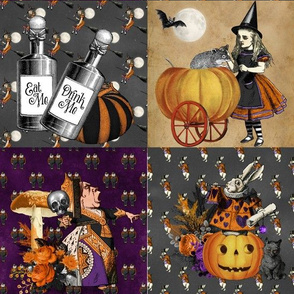 Halloween in Wonderland Patchwork