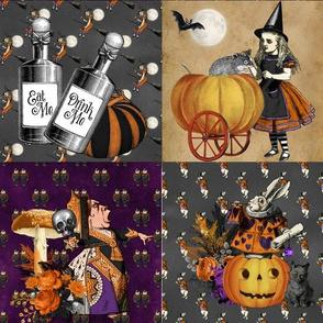 Halloween in Wonderland Patchwork
