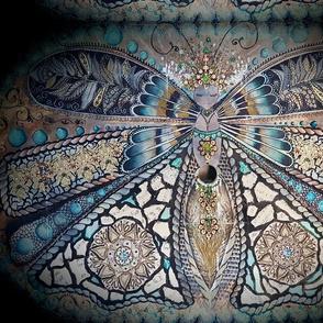 Queen Moth-er teal